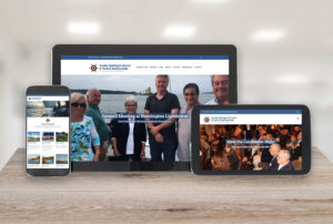 Greater Huntington Council of Yacht and Boating Clubs Responsive Design Website Display